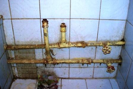 Замена труб в ванной комнате Хабаровск